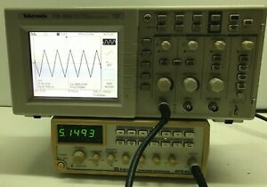 Tektronix Tds1002 Two Channel 60mhz 1gs s Digital Storage Oscilloscope For Parts