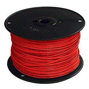 Southwire Building Wire 500 Ft 4 gauge Nylon Jacket Heat resistant Red