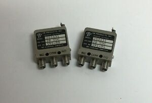 Lot Of 2 Db Products 2s2a31 28v Sma Female Rf Coaxial Switch
