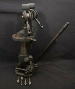 Vintage 8x Station Hollywood Sr Turret Reloading Press 12 Ga. 1 12
