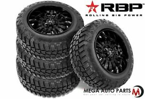 4 Rbp Repulsor M T Rx 33x12 50r22lt 109q 10 Ply E Off Road Truck Mud Tires