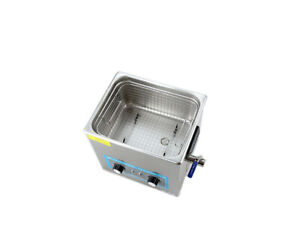 3l 120w Ultrasonic Cleaner Heating Stainless Steel Industry Medical Hardwa