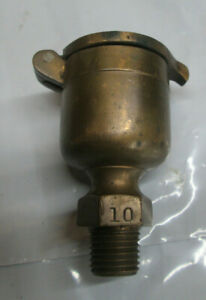 Lot Of 2 brass Hit And Miss Engine Oilers