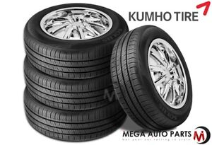 4 Kumho Solus Ta31 195 65r15 91h All Season Touring Tires W 60000 Mile Warranty