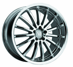 1 New Tsw Mandrus Millenium Wheel Rim 20x8 5 5x112 Chrome