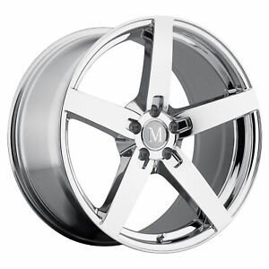 1 New Tsw Mandrus Arrow Wheel Rim 18x8 5 5x112 Chrome