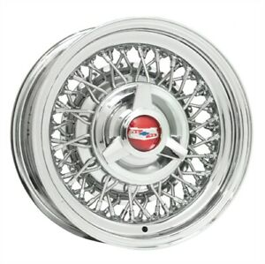 Wheel Vintiques 80 561203 80 Series Ford Chevy Wire Wheel Size 15 X 6 Bolt Circ