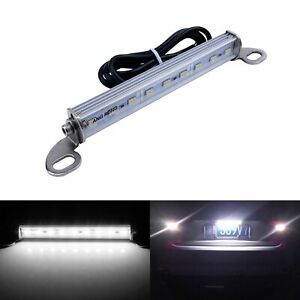 1x 9 Smd Led License Plate Light Reverse Backup Lamp 12v Universal Fit Car Truck