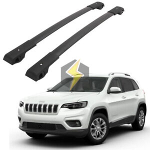 Durable Cross Bar For Jeep Cherokee 2014 2020 Cargo Luggage Roof Rack Pair