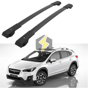 Durable Cross Bar For Subaru Xv Crosstrek 2018 2021 Cargo Luggage Roof Rack Pair