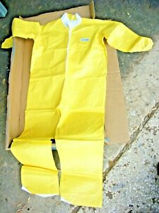 Lot Of 25 Kappler Tyvek Polycort Protective Coveralls Size Xl With Collar