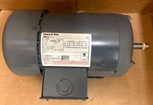 Century Ao Smith H535 3 phase Rigid Motor 1 1 2 Hp 1725 Rpm 200 230 460v