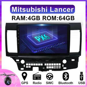 4gb 64gb For Mitsubishi Lancer 2005 2015 Head Unit Car Stereo Gps Dab 4g Wifi Bt