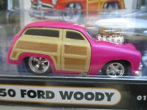 Muscle Machines Supercharged 1950 50 Ford Woody Station Wagon 164
