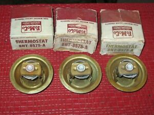 Nos 1949 1951 Lincoln Thermostat Lot 148 153 Degrees 3 Pcs