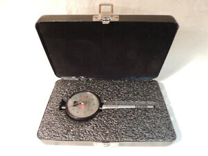 Pre owned Rex Gauge Co Type A Model 1600 Durometer For Types A B O With Case