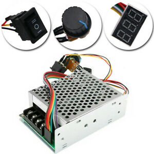 Us 10 55v 60a 5000w Reversible Dc Motor Speed Controller Pwm Control Soft Start