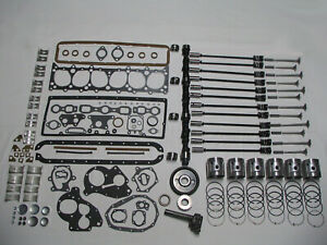 Deluxe Engine Rebuild Kit 1940 Chevrolet 216 6 Cylinder 40 Chevy Pistons Valves