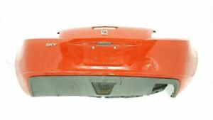 Rear Bumper Assembly Excluding Red Line Oem 2007 2008 2009 10 Saturn Sky R340994