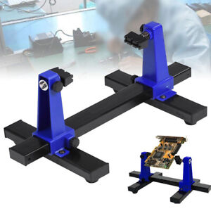 Pcb Circuit Board Clamp Soldering Printed Rotational Bracket Holder Accessory