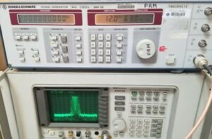 Rohde Schwarz Smy02 W Smy b1 Synthesized Rf Generator 9khz To 2 08ghz tested