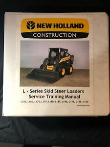 New Holland L Series Skid Steer Loaders Service Manual 187 615