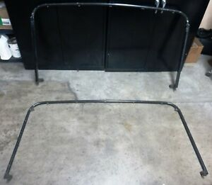 87 95 Jeep Wrangler Yj Soft Top Frame Brackets Half Door Style Pair
