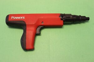 Powers Fasteners P3500 Powder actuated Semi automatic Tool Better Than Dx36