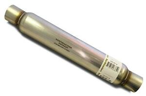 Universal Glass Pack Resonator Muffler 2 5 Colt