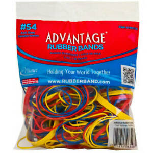 Rubber Bands Size 54 assorted Size Color Heavy Duty Made In Usa 1 8 Pound