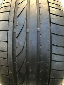 255 40r17 94v Bridgestone Potenza Re 050a Runflat 6 32 Pre owned Used Tire