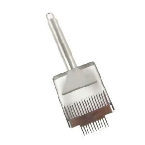 Stainless Steel Honey Uncapping Fork Tool Beekeeping Equipment Bee Hive Hand