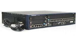 Panasonic Kx ncp500 Pure Ip pbx Phone System With Ipcmpr Dlc16 Lcot4 Sd Card
