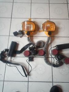Safety Mask Full Face With Battery Pack And Charger Selling Both Together