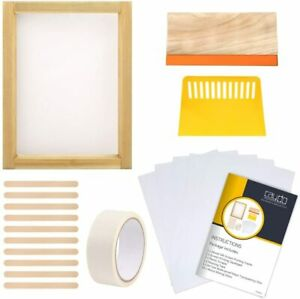 Caydo 20 Pieces Screen Printing Starter Kit Include Instructions 10 X 14 Inch