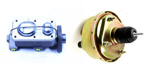 1964 65 66 Mustang 7 Power Brake Booster W Master Cylinder For Automatic Trans