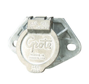 Grote 87860 Ultra pin Receptacle Two hole Mount receptacle Only Solid Pin