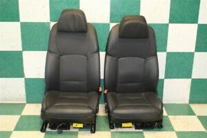 10 16 550i Gt Black Leather Driver Passenger Power Front Seats Screens Hot Rod