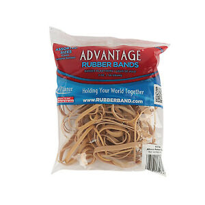 Advantage Rubber Bands Size 54 assorted Sizes Heavy Duty Made In Usa 1 8 Lb
