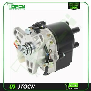 Ignition Distributor Fits 1988 1989 1990 1991 Honda Crx Civic L4 1 5l