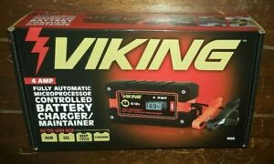 Viking Fully Automatic Microprocessor Controlled Battery Charger maintainer