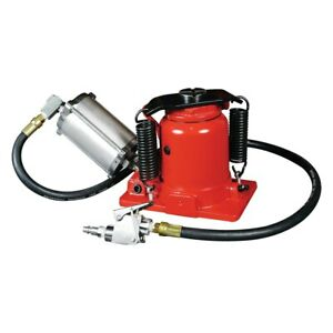 Astro Pneumatic Tool 20 Ton Low Profile Air hydraulic Bottle Jack
