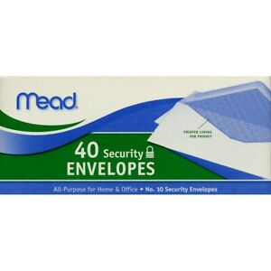 Mead Security Envelopes 10