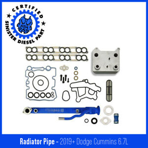 Sinister Diesel Basic Solution r Kit For 2004 2007 Ford Powerstroke 6 0l Blue