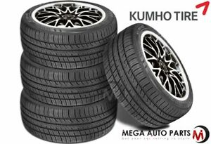 4 X Kumho Ecsta Pa51 205 55zr16 91w Uhp Performance All Season 45k Mile Tires