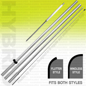 Pole Spike Kit For Windless Or Flutter Swooper Flag Hybrid 1 Pack