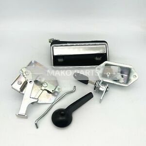 Cab Door Lock Assembly Handle Fit Daewoo Doosan Dh55 Excavator