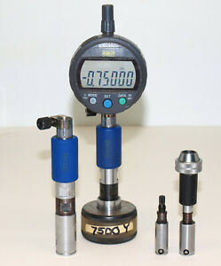 Diatest Bore Gage Lot 750 625 470 3945 With Mitutoyo Digimatic Digital