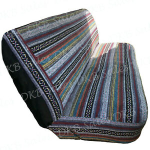 New Universal Baja Inca Saddle Mexican Blanket Full Size Bench Truck Seat Cover