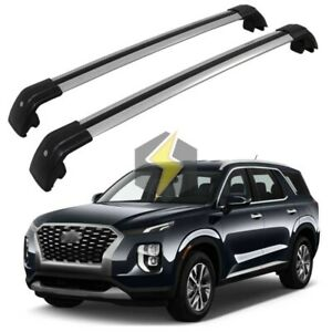 Cross Bar For Hyundai Palisade 2020 Luggage Roof Cargo Rack Durable Lockable